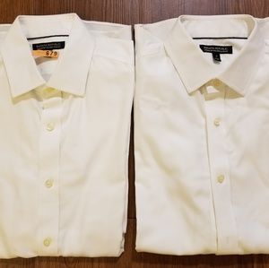 Men's white shirts